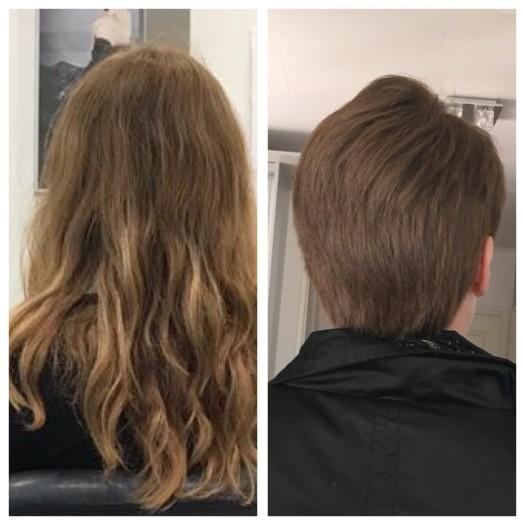 Bort med håret